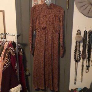 NWT tags Free People leopard print dress